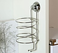 Orange® 1Pcs Stainless Steel Hairdryer Rack Bathroom Storage Rack H27 *10CM(internal Diameter)