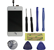 LCD Screen with Digitizer Assembly, Tools and Glue Tape for iPod touch 4 (Assorted Colors)