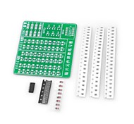 DIY SMD Soldering Practice PCB Board Kit for (For Arduino)