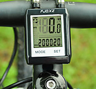 Bike Computer,FJQXZ Waterproof Wireless LCD Black Bicycle Speedometer/Stopwatch