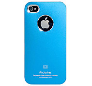 Slim Metal Aluminum Hard Case with Back Chrome for iPhone 4/4S (Assorted Colors)