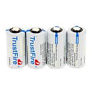 TrustFire CR123A Lithium (4pcs)