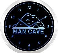 nc0925 Man Cave Decor Bar Beer Pub Club Neon Sign LED Wall Clock