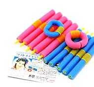 12 PCS Hair Curling Rods Magic Air Hair Roller