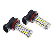 H11 102SMD White Light LED for Lamp Bulb (12V,2pcs)