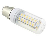 B22 7 W 48 SMD 5730 600 LM Warm White T Corn Bulbs AC 220-240 V