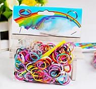 z&x® telar bandas de tejido de DIY pulsera elástica 200 PC