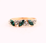 Women's Sweet Retro Emerald Ring R598