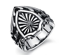 Retro Pattern Personality Forward Stainless Steel Men's Ring (1 Pcs)
