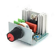 FR-4 2000W Электронный регулятор напряжения ж / Диммер / Скорость / Регулировка температуры - Зеленый
