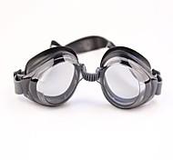 Adult Adjustable Mirror Swimming Anti Fog and Anti Ultraviolet with Earplugs Black