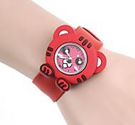 Kinderen Tiger Pattern Silica Gel Clap Watch (1 st)