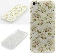 China Rose Pattern  PC Hard Protective Case for iPhone 5/5S