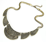 Fashionable Punk Style Alloy Necklace(Assorted Colors)