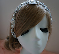 Women's Rhinestone Headpiece-Wedding / Special Occasion Headbands Clear