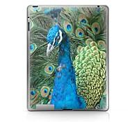 Peacock modello di protezione Sticker per iPad 1/2/3/4