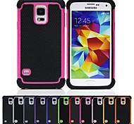 Two-in-One Fußball Grain Design PC und Silikon-Hülle für Samsung Galaxy i9600 S5 (verschiedene Farben)