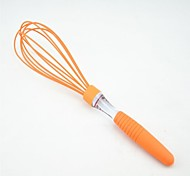 Silicone Egg Whisk With TPR Handle