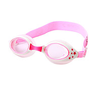Children's Waterproof Anti-Fog Swimming Goggles with Stars