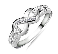Lureme®925 Sterling Silver Endless Love S925 Stamped Lady Infinity Ring