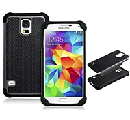 Ball Pattern Silicone & Plastic Protective Case for Samsung Galaxy S5 I9600 (Assorted Colors)