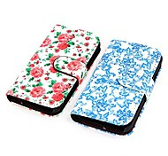 Coway Printing Flip PU Leather Full Body Case for Sansung S2 i9100(Assorted Color)