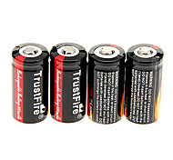 TrustFire 16340 880 mAh da bateria (4 peças)