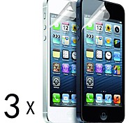 [3-Pack] High Quality Matte Anti-Glare Screen Protectors for iPhone 5/5S
