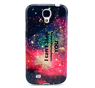 I Can't Stop Loving Missing Needing You Pattern TPU Soft Case for Samsung Galaxy S4 I9500