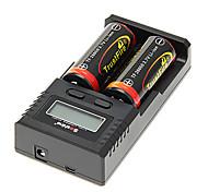 TrustFire 26650 5000mAh da bateria com proteção de sobrecarga (2pcs) + H2 Soshine carregador de bateria e carregador de carro