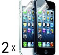 [2-Pack] Protections d'écran de haute qualité mat anti-reflets pour iPhone 5/5S