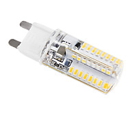 G9 3 W 64 SMD 3014 384 LM Warm White Corn Bulbs AC 220-240 V