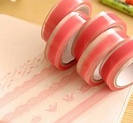 Pink Lace Pattern Tape(Random Color)