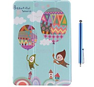 Balloon with Cartoon Character Case for iPad mini 3, iPad mini 2, iPad mini