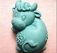 Cow a forma di stampo Bake, W10.2cm x L6.8cm x H3.7cm
