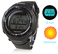 Men's Watch Sports Solar Powered Multi-Function Luminous Back-light Cool Watch Unique Watch