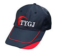 TTYGJ Hombres Negro Ajustable Anti-UV Golf Sunhat