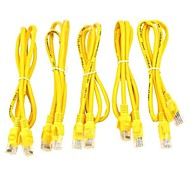 RJ45 Ethernet Internet Network Cable  5 PCS