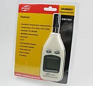 Digital de temperatura y medidor de humedad GM1362