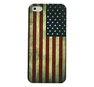 Stars and Stripes Flag Pattern Hard Case for iPhone5/5S