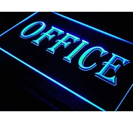 i078 OPEN OFFICE Business Displays Neon Light Sign