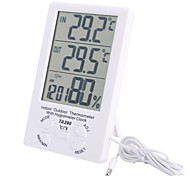 "4.4 ""LCD Indoor Outdoor Digital-Temperatur-Feuchtigkeits-Messinstrument mit Sonde"