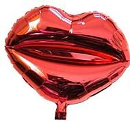 10pcs 18inch Lip Balões Melhor Presente Para Crianças
