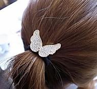 Lovely Diamond Angel Wings Elastic Fashion Hair Jewelry Hair Ties