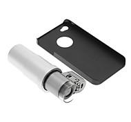 iPhone 4 / S Cell Phone Case e 200 volte lente di ingrandimento nel set