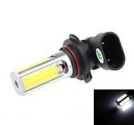 9006 24W 1000 1200LM 6500K 4 * COB LED ampoule blanche LED pour voiture antibrouillard / feu de marche arrière (12 ~ 24V)