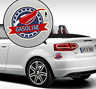 Gasoline Pattern Decorative Car Sticker
