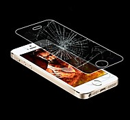 Ligação Sonho 0,33 milímetros 2.5D Ultra-fino à prova de explosão temperado Film vidro com suporte de plástico para iPhone5 / 5S