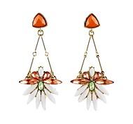 2014 New Coming Elegant Design Flower Shape Stud Fashion Earring