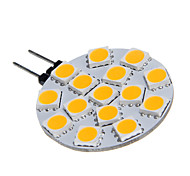 G4 15x5060SMD 3W 15LED warm wit gloeilamp